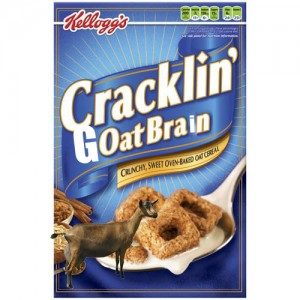 Cracklin' Goat Brain